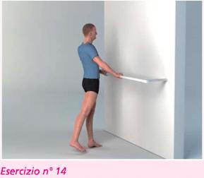esercizio 14 estensione per riabilitazione ginocchio