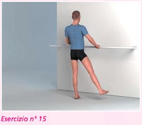 esercizio 15 per riabilitazione ginocchio abduzione