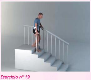 esercizio 19 per riabilitazione ginocchio