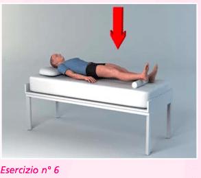esercizio 6 con contrazioni per riabilitazione protesi ginocchio