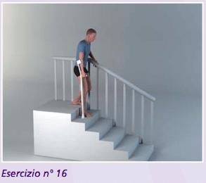 Esercizio 16 camminare dopo protesi anca