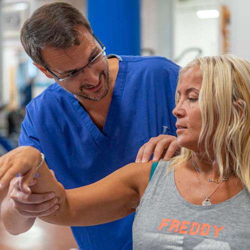protesi spalla: visita